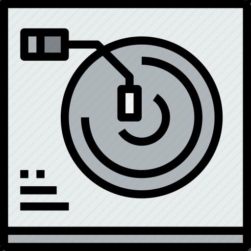 audio, cd, music, musical, player, studio icon