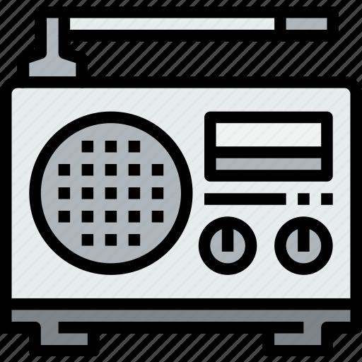 audio, music, musical, radio, studio icon
