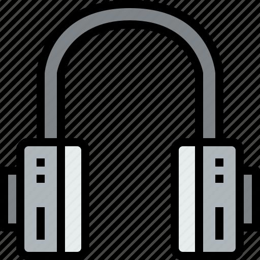 audio, headphone, music, musical, studio icon