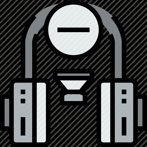 audio, headphone, music, musical, remove, studio icon