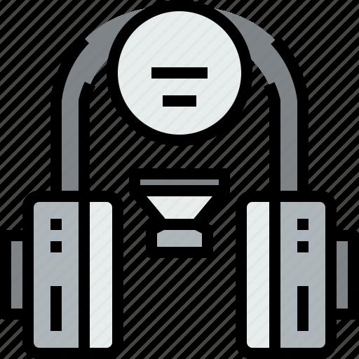 audio, headphone, music, musical, speaker, studio icon