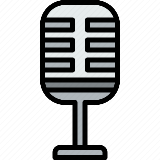 audio, microphone, music, musical, studio icon