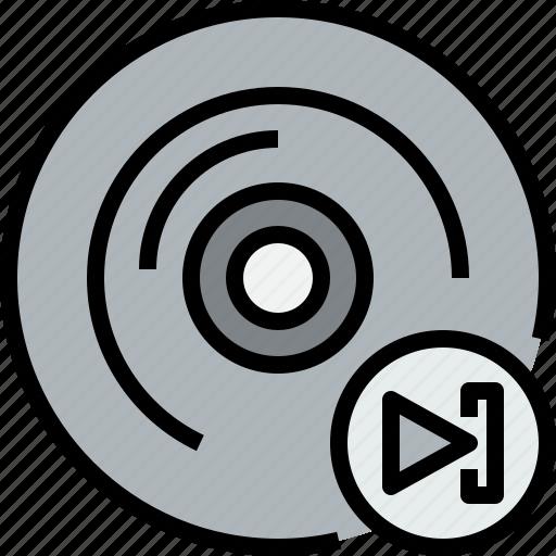 audio, cd, music, musical, next, studio icon