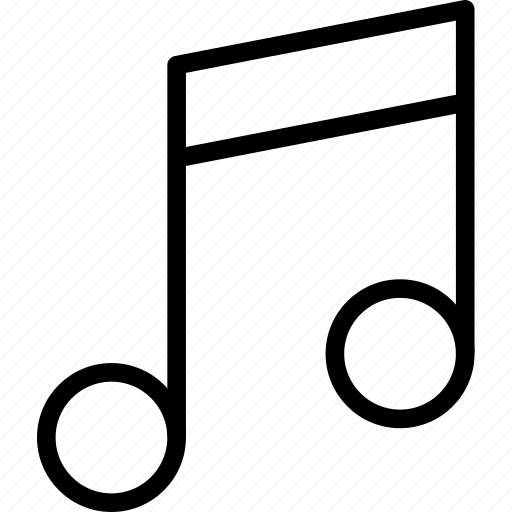 media, music, musical, note, sound icon
