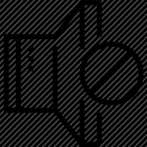 Error, media, music, musical, sound, speaker icon - Download on Iconfinder