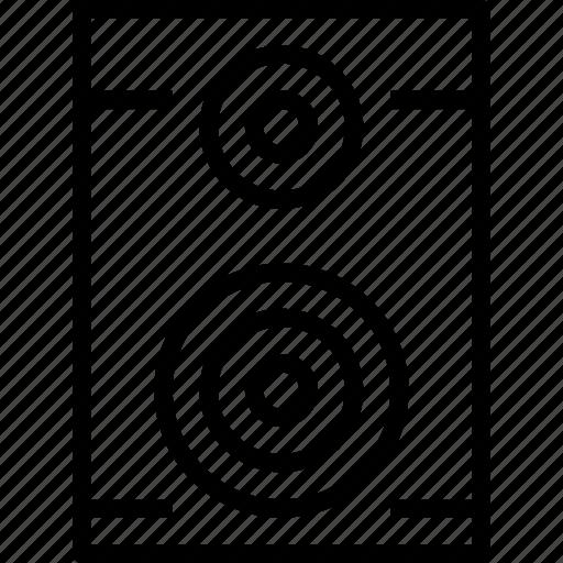 Media, music, musical, sound, speaker icon - Download on Iconfinder