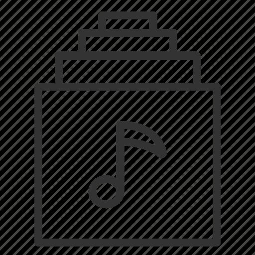 album, app, library, list, music icon