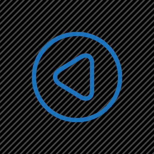 app, music, reverse icon
