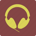 headphone, headphones, headset, listening, music icon