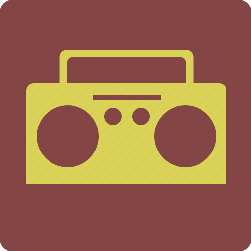 Radio, boombox, cd-player, music, player icon - Download on Iconfinder