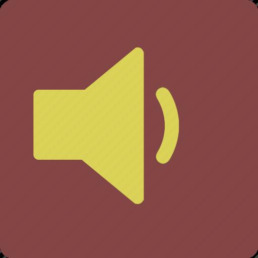 audio, quiet, silent, speaker, volume icon