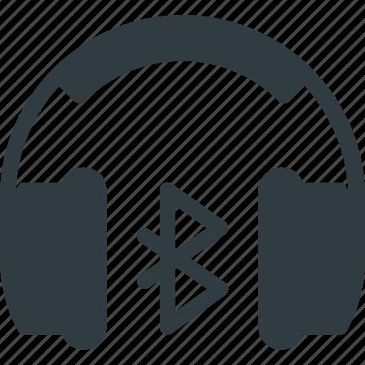 Bluetooth, bluetuth, heardset, heradphone, wireless icon - Download on Iconfinder