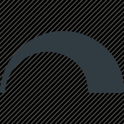 audio, controll, curve, level, music, sound, volume icon