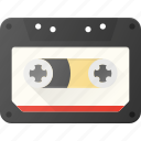 audio, casette, music, retro icon