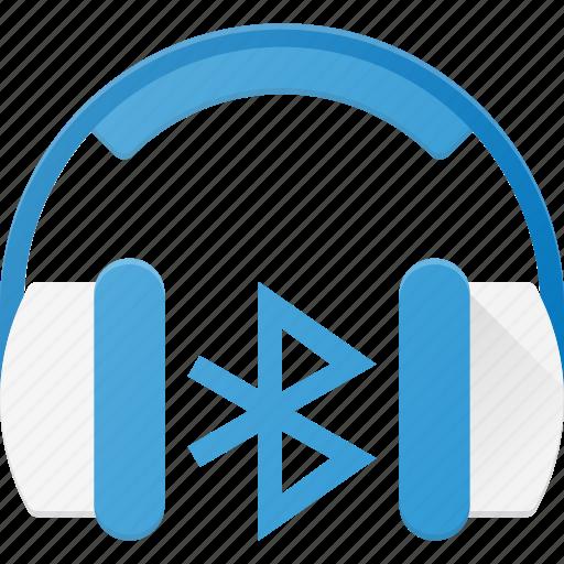 bluetooth, bluetuth, heardset, heradphone, wireless icon