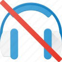 headphone, headset, music, mute, sound, speaker icon