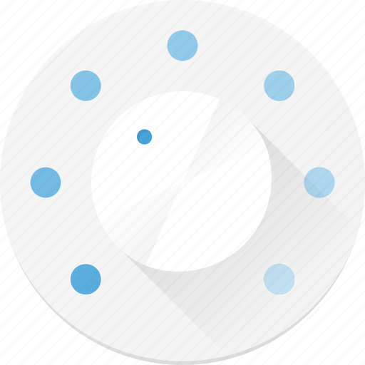 knob, level, tune, turn, volume icon