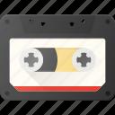 audio, casette, music, retro icon