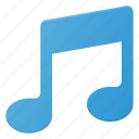 music, note, play, sound icon