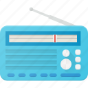 music, radio, retro, sound, wave icon