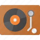 disk, dj, mix, music, player, retro, vinyl icon