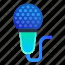 karaoke, microphone, music, singer icon