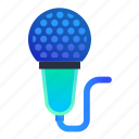 karaoke, microphone, music, singer