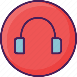 audio, device, headphone, music, sound icon