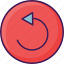 audio, interface, music, player, replay, video icon