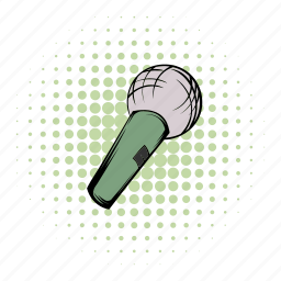 broadcast, comics, karaoke, record, sing, sound, studio icon