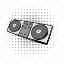 audio, comics, console, dj, mixing, music, sound icon
