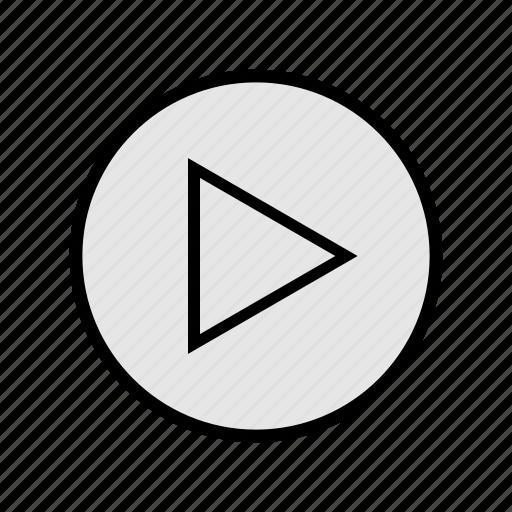 music, play, rythm, songs, sound, start, tune icon