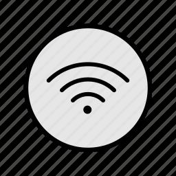 music, signal, sound, style, wifi, wireless icon
