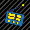 broadcast, device, entertainment, media, music, plaeyr, radio