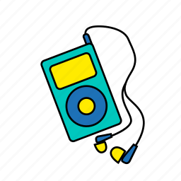 audio, entertainment, modern, mp3, music, player, podcast icon