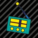 antenna, broadcast, device, entertainment, media, music, radio