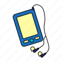 audio, device, media, modern, player, podcast, smartphone icon