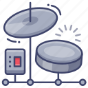 drum, drums, electronic icon