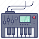 electric, keyboard, piano, workstation icon