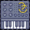 analog, electronic, synthesizer icon