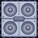 loudspeaker, moniter, speaker, stereo icon