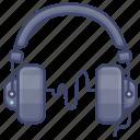 headphones, headset, monitor, stuido icon