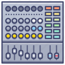audio, channel, mixer, system icon