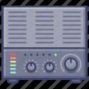 amplifier, digital, music icon