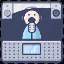 music, recording, studio, voice icon
