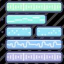 midi, music, production, track icon