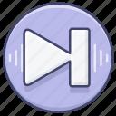 control, next, song icon