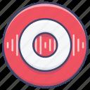rec, record, recording icon