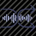 music, play, random icon