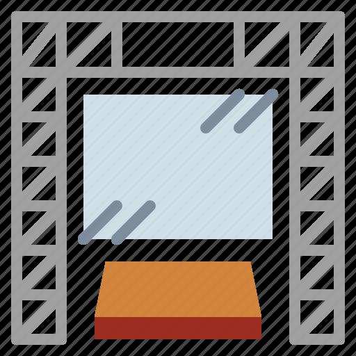 big, mornitor, screen icon